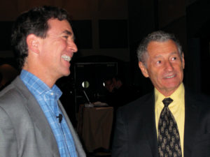 Kevin Kimberlin and Leonard Kleinrock