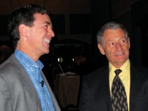 Kevin Kimberlin and Leonard Kleinrock