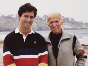 Dr. Jonas Salk and Kevin Kimberlin