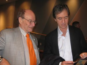 Dr. Walter Gilbert and Kevin Kimberlin