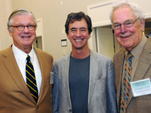 George Bennett, Kevin Kimberlin, and Dr. Jack Wennberg,